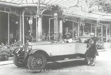 """CPSM FRANCE 75016 """"Paris, Restaurant Cascade au Bois de Boulogne"""""""