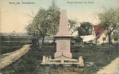 "CPA  ALLEMAGNE ""Gruss aus Tennenbronn, monument aux morts"""