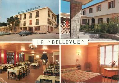 "CPSM FRANCE 84 ""Bollène Ecluse, Hotel restaurant le Bellevue"""
