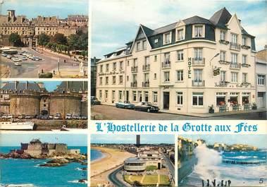 """CPSM FRANCE 35 """"Saint Malo, Hotel restaurant de la Grotte aux Fées"""""""