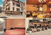 """73 Savoie CPSM FRANCE 73 """"Aix Les Bains, Hotel restaurant Aux Gourmets"""""""