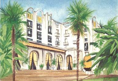 "CPSM FRANCE 40 ""Dax, Splendid Hotel"""
