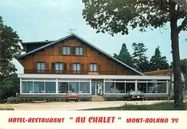 """CPSM FRANCE 39 """"Mont Roland, Restaurant Au Chalet"""""""