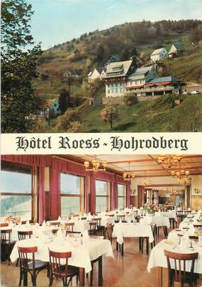 """CPSM FRANCE 68 """"Hohrodberg, Hotel Roess"""""""