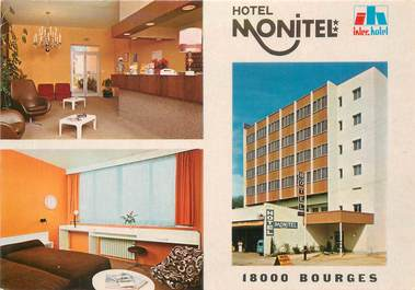 """CPSM FRANCE 18 """"Bourges, Hotel Monitel"""""""