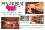 """29 Finistere CPSM FRANCE 29 """"Saint Pol de Leon, Restaurant Pen ar Prat"""""""
