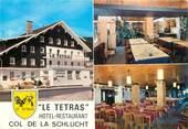 """88 Vosge CPSM FRANCE 88 """"Col de la Schlucht, hotel restaurant Le Tetras"""""""