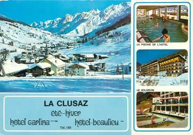 "CPSM FRANCE 74 ""La Clusaz, Hotel Carlina Beaulieu"""