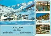 """74 Haute Savoie CPSM FRANCE 74 """"La Clusaz, Hotel Carlina Beaulieu"""""""