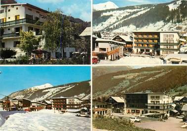 "CPSM FRANCE 74 ""Morzine, Hotel restaurant l'Equipe"""