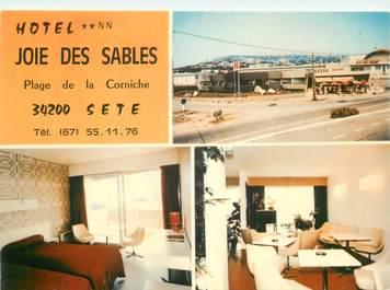 """CPSM FRANCE 34 """"Sète, Hotel Joie des Sables"""""""