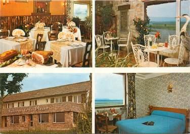 """CPSM FRANCE 48 """"Montbel, Restaurant Auberge de la Plaine"""""""