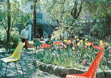"""CPSM FRANCE 66 """"Arles sur Tech, hotel restaurant Les Glycines"""""""