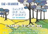 """62 Pa De Calai CPSM FRANCE 62 """"Le Touquet, Restaurant Café de la Foret"""""""