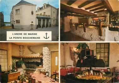 """CPSM FRANCE 49 """"La Pointe Bouchemaine, Hotel L'Ancre de Marine"""""""