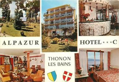 """CPSM FRANCE 74 """"Thonon les Bains, Hotel Alpazur"""""""