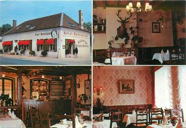 "CPSM FRANCE 10 ""Lesmont, Hotel restaurant Auberge munichoise"""