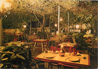 "CPSM FRANCE 34 ""Ganges, Hotel restaurant Aux Caves de l'Herault"""