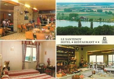 """CPSM FRANCE 21 """"Marcenay le Lac, Hotel restaurant Le Santenoy"""""""