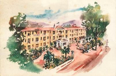 "CPSM FRANCE 04 ""Digne, Hotel Ermitage Napoléon"""