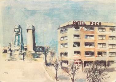 "CPSM FRANCE 25 ""Besançon, Hotel Foch"""