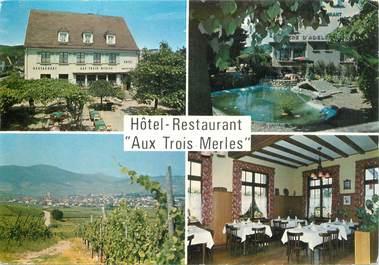 """CPSM FRANCE 68 """"Ammerschwihr, hotel restaurant aux Trois Merles"""""""