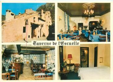 """CPSM FRANCE 34 """"Saint Guilhem le Désert, restaurant la Taverne de l'Escuelle"""""""