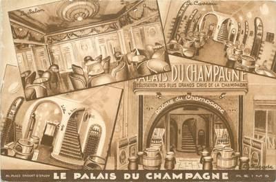 """CPSM FRANCE 51 """"Reims, Restaurant Le Palais de Champagne"""""""