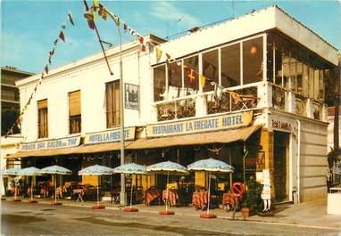 """CPSM FRANCE 06 """"Menton, Restaurant la Fregate"""""""