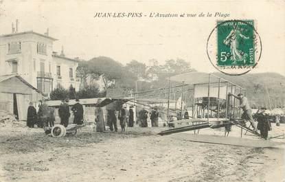 """CPA FRANCE 06 """"Juan les Pins, l'Aviation"""""""