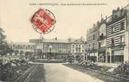 """03 Allier / CPA FRANCE 03 """"Montluçon, les jardins de l'avenue de la gare"""""""