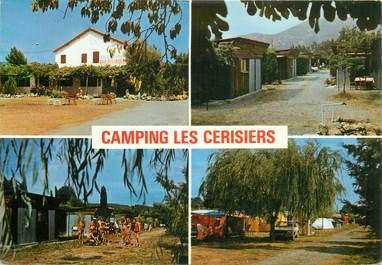 "CPSM FRANCE 06 ""Mandelieu, camping les Cerisiers"""
