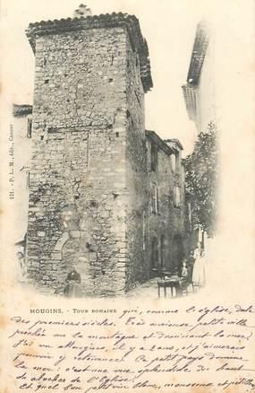 "CPA FRANCE 06 ""Mougins, tour romaine"""