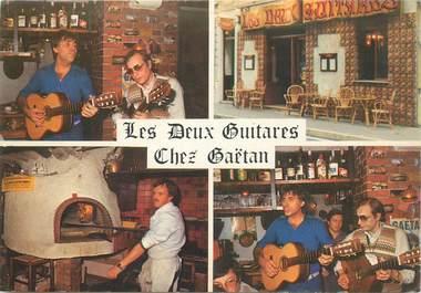 """CPSM MONACO """"Pizza Les Deux Guitares, Gitans"""""""