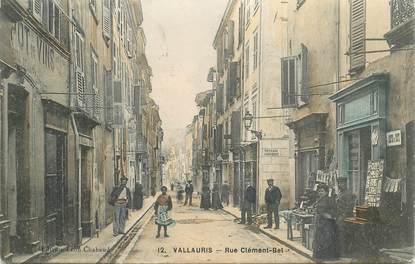 "CPA FRANCE 06 ""Vallauris, rue Clément Bel"""