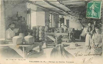 """CPA FRANCE 06 """"Vallauris, Fabrique de Poteries"""""""