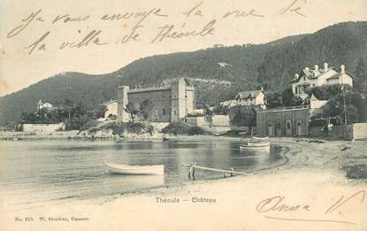 """CPA FRANCE 06 """"Théoule, le Chateau"""""""