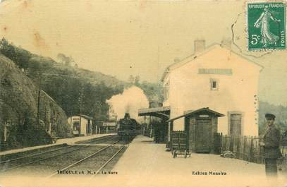 "CPA FRANCE 06 ""Théoule, la gare"" / TRAIN"