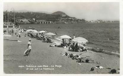 """CPA FRANCE 06 """"Théoule, la plage"""""""