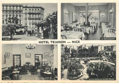 """CPSM FRANCE 06 """"Nice, Hotel Trianon"""""""
