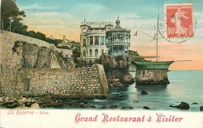 """CPA FRANCE 06 """"Nice, Restaurant La Réserve"""""""