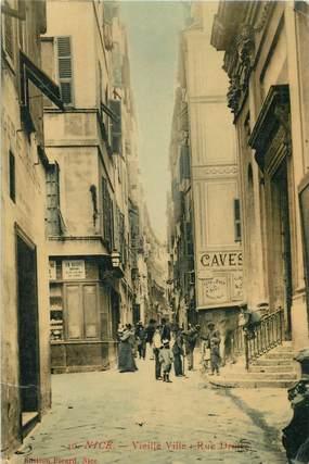 """CPA FRANCE 06 """"Nice, rue Droite de la vieille ville"""""""