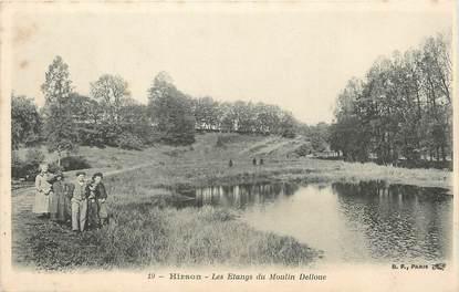 """/ CPA FRANCE 02 """"Hirson, les étangs du moulin Delloue"""""""