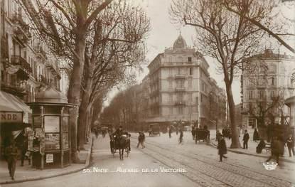 """CPA FRANCE 06 """"Nice, avenue de la Victoire"""""""