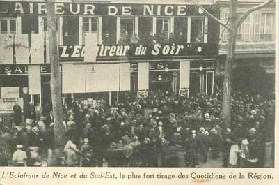 """CPA FRANCE 06 """"Nice, Le Journal L'Eclaireur de Nice"""""""