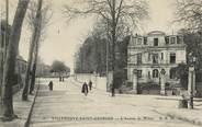 """94 Val De Marne CPA FRANCE 94 """"Villeneuve Saint Georges, l'avenue de Melun"""""""