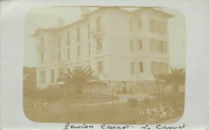 """CARTE PHOTO FRANCE 06 """"Le Cannet, Pension Carnot"""""""