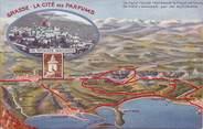 """06 Alpe Maritime CPA FRANCE 06 """"Grasse, la cité des parfums"""""""