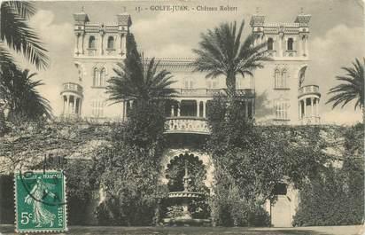 "CPA FRANCE 06 ""Golfe Juan, Chateau Robert"""