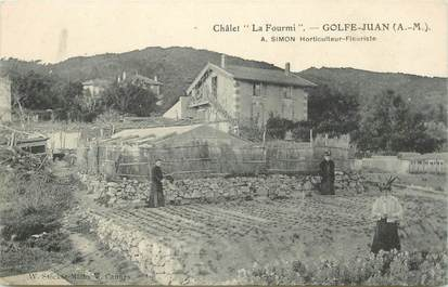 """CPA FRANCE 06 """"Golfe Juan, Chalet La Fourmi, Horticulteur Fleuriste"""""""